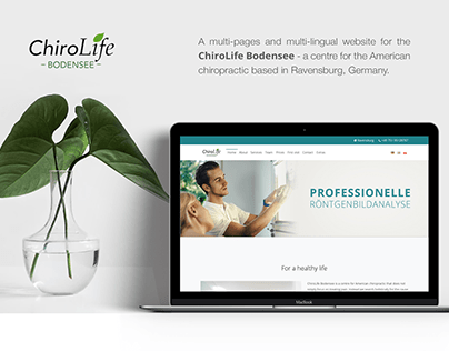 ChiroLife Bodensee | Website and business cards