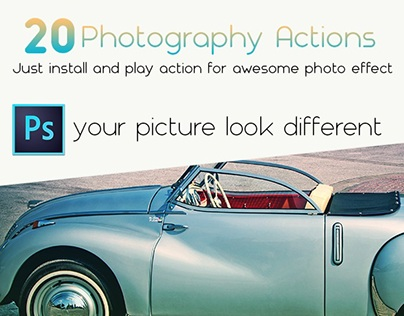 20 Photography Actions