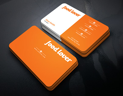 This is Business card for any kind of restaurant.