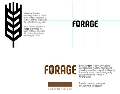 FORAGE - Total brand design