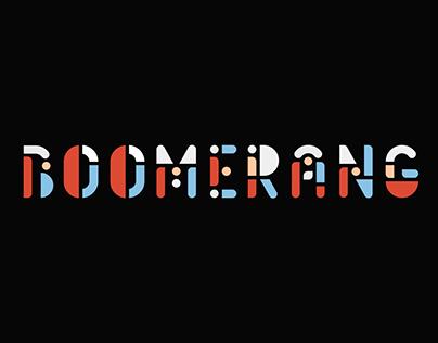 Boomerang - Animated Typeface