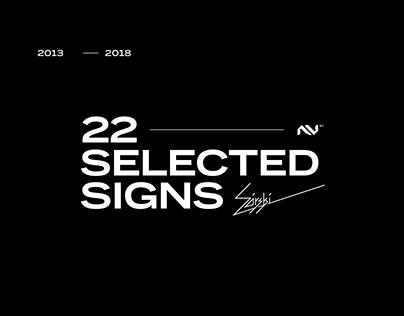 Signs. Logos. 2013 - 2018