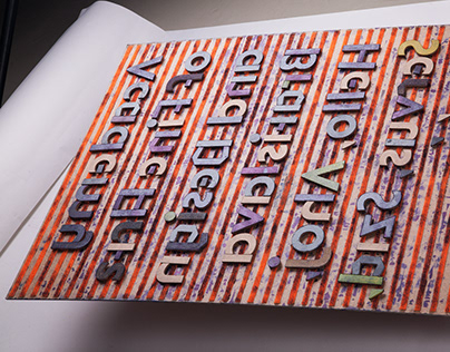Ajeto – letterpress