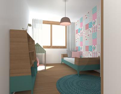 Projeto 3D ZEN Residence T4