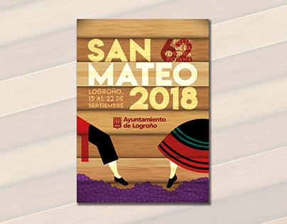 WINNER POSTER OF THE SAN MATEO'18 FESTIVAL