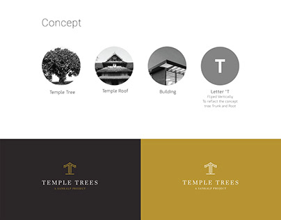 LOGO AND BRANDING FOR TEMPLE TREES BY FRESH MIND IDEAS