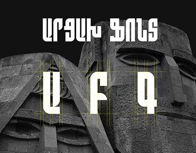 ARTSAKH - ARMENIAN FREE FONT