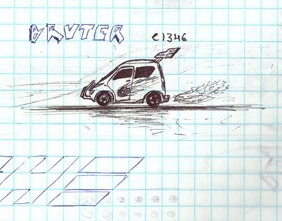 🚸 My schoolhood drawing album