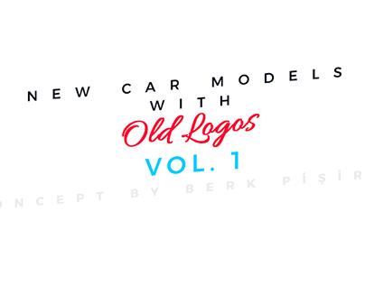 New Car Models With Old Logos Concept Project