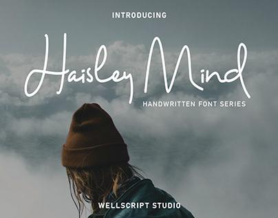 FREE Haisley Mind Handwritten Font