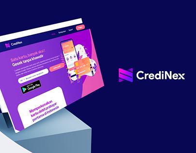 CrediNex Welcome Page