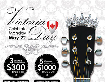 Victoria Day Poster