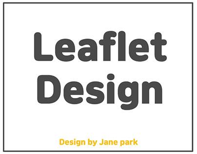 duri Leaflet design