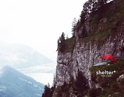 shelter with a twist