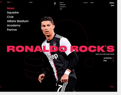 Juventus F.C Web Desgin