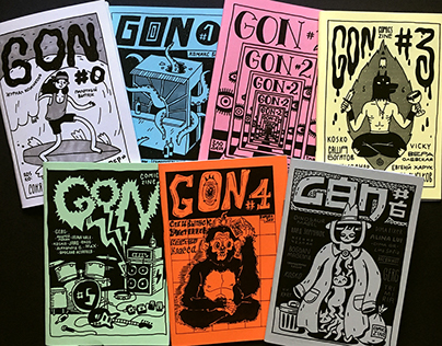 GON Comics Zine