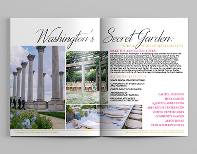 The U.S. National Arboretum Event Planner and Materials