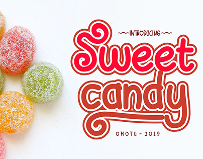 Free Sweet Candy Fun Font