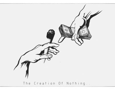 The creation of nothing..