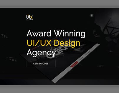 UI/UX STUDIO - BANNER - HOMEPAGE - WEB DESIGN- PSD