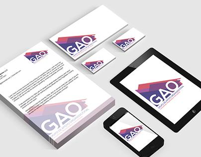 Diseño de identidad Grupo de Apoyo Organizacional