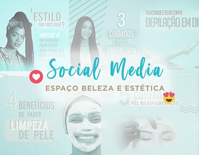Social Media Espaço de Beleza e Estética