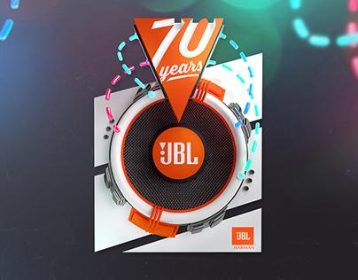 JBL 70th anniversary T-shirts