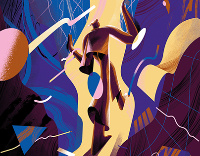 D DE DELTA MAGAZINE — Editorial Illustration