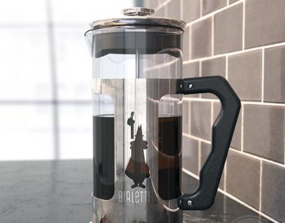 Bialetti Coffee Press - FREE MODEL