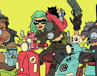 Moped Girls