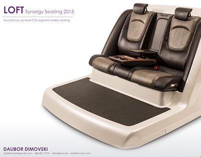 LOFT Sedan Concept Seating