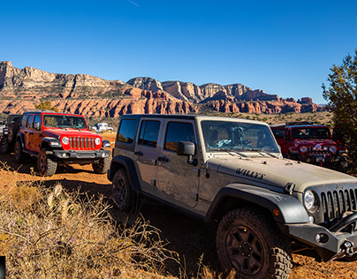 Jeeping Arizona-Outlaw Trail / Honanki Ruins, Sedona AZ