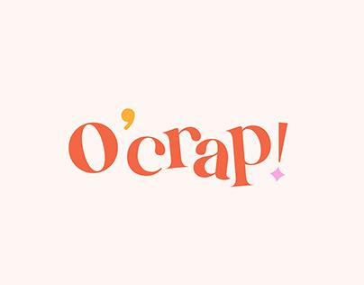 O'Crap! Visual Identity