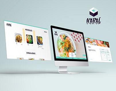 Web Design - Karai Japanese Restaurant