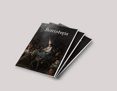 Diseño Editorial - «Heterodoxia»