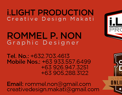 Offset Printing Project Layout : Creative Design Makati