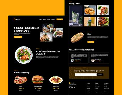 Food - Homepage