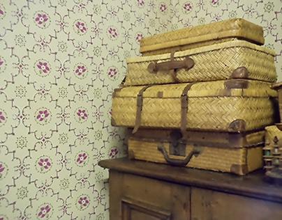 Handprinted Wallpaper For Miss Julie Film