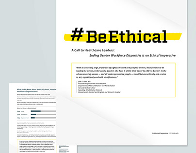 The Be Ethical Campaign Logo and White Paper