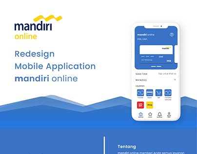 Mandiri Projects Photos Videos Logos Illustrations And Branding On Behance