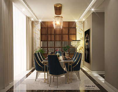 Gold Dining Room.