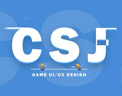 Project CSJ-Game UI/UX Design