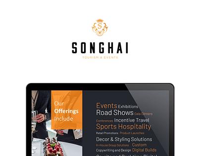 Songhai Tourism & Events Rebranding + Company Profile