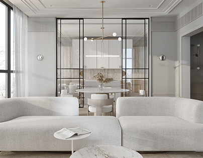 Apartment in Moscow QR