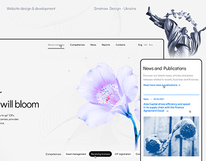 Financial Consulting Company | Corporate Website