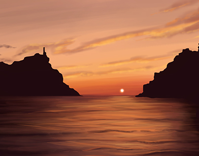 Concept art sea