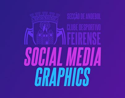 CD Feirense Andebol | Social Media Graphics (Handball)