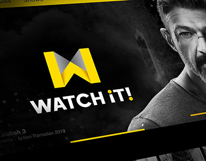 WATCH iT! - Logo & identity design