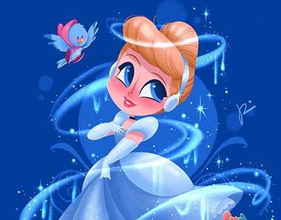 Cinderella (fan art)