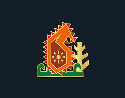 Azerbaijan National Ornament   Illustration